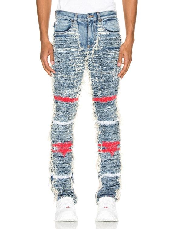 x Blackmeans Jeans in Blue Denim