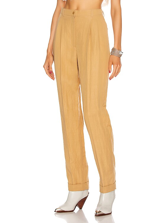 Tailored Pant in Beige