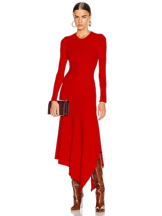 Viviana Dress in Red