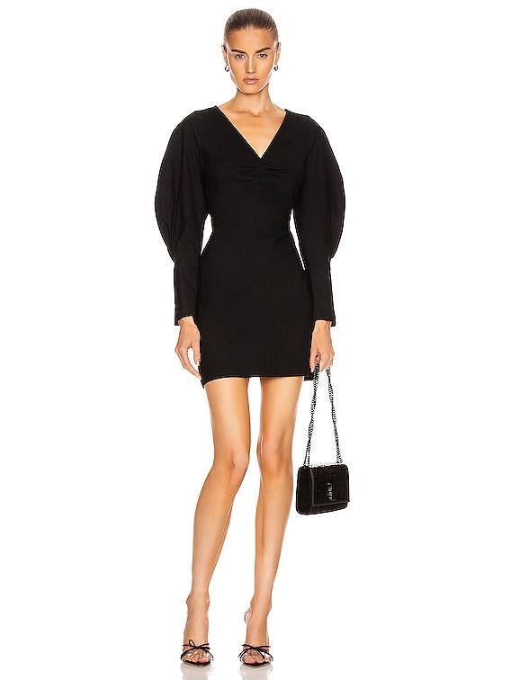 Aila Dress in Black