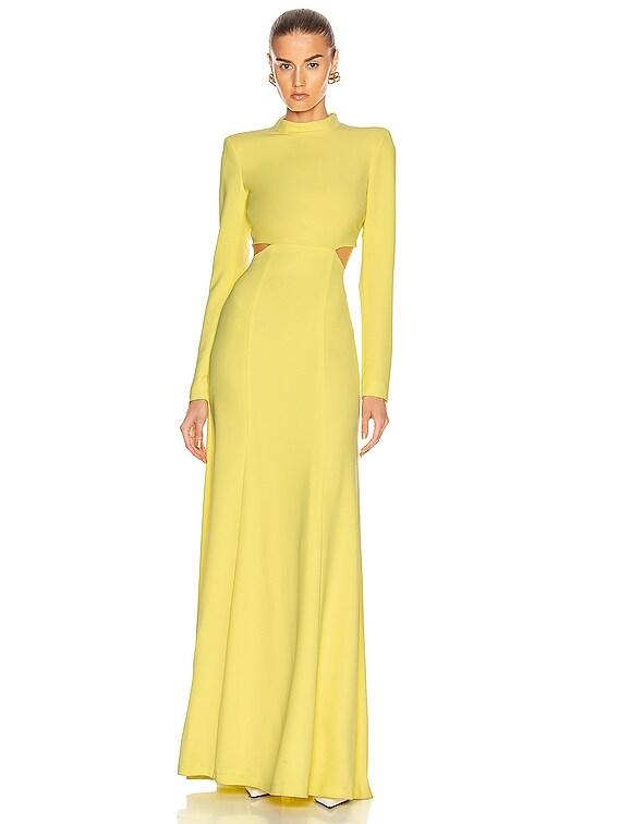 Gabriela Dress in Lemon