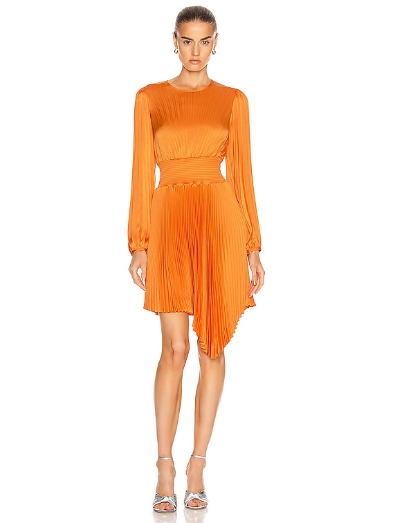 Behati Dress in Orange