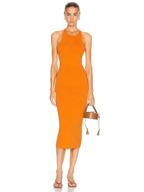 Marc Dress in Tangerine