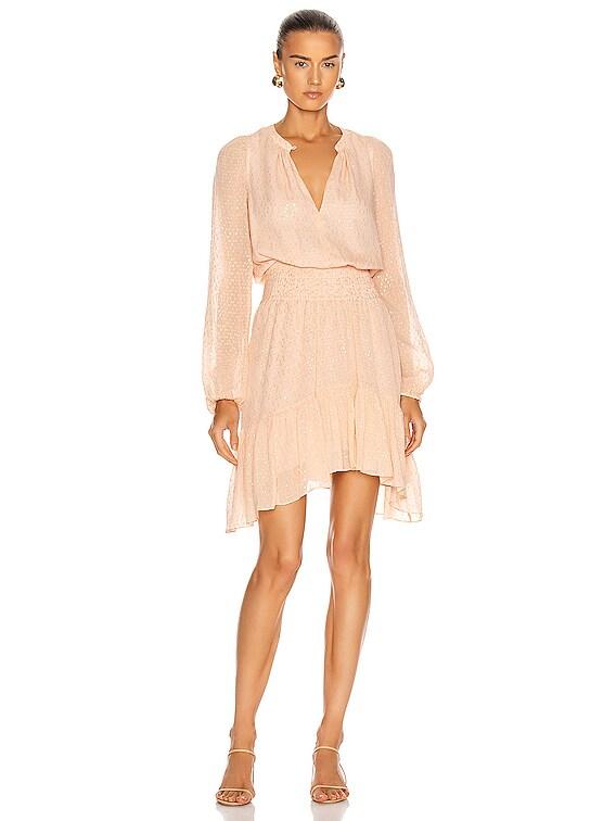 Sidney Dress in Pale Pink