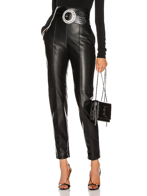 Leather Pant in Black
