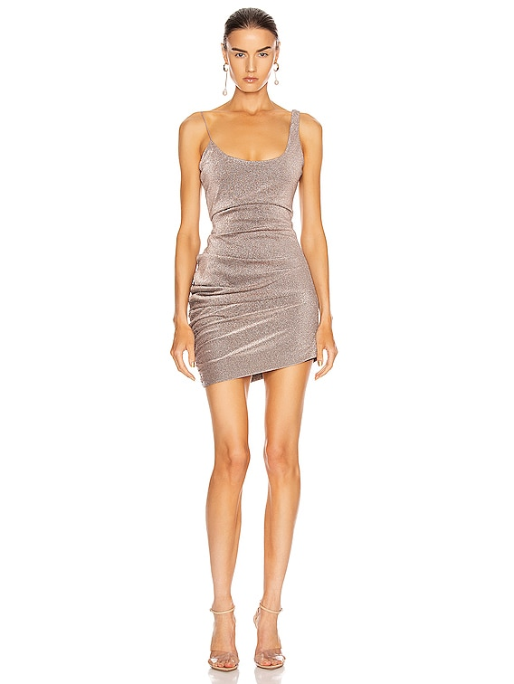 Emmons Dress in Mercury Glitter