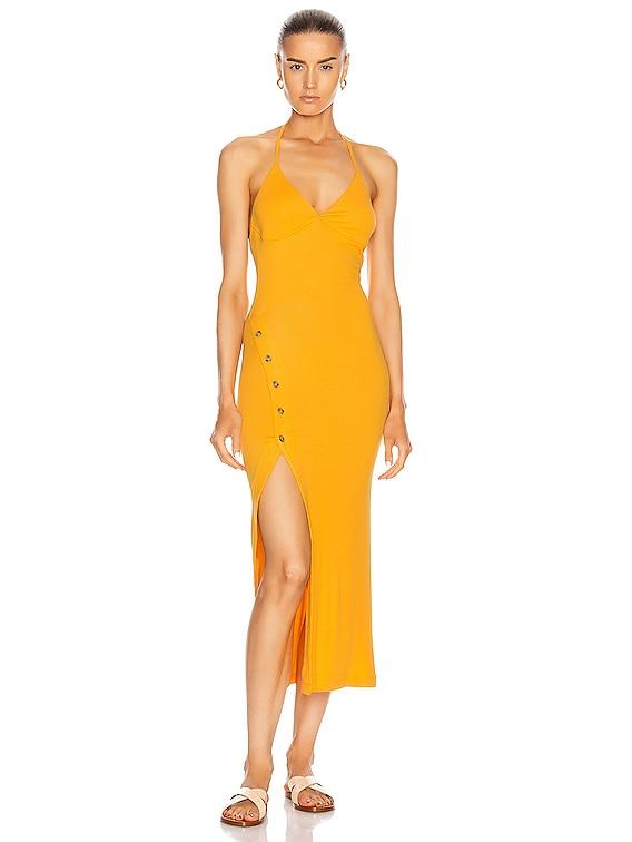 Pierce Dress in Marigold