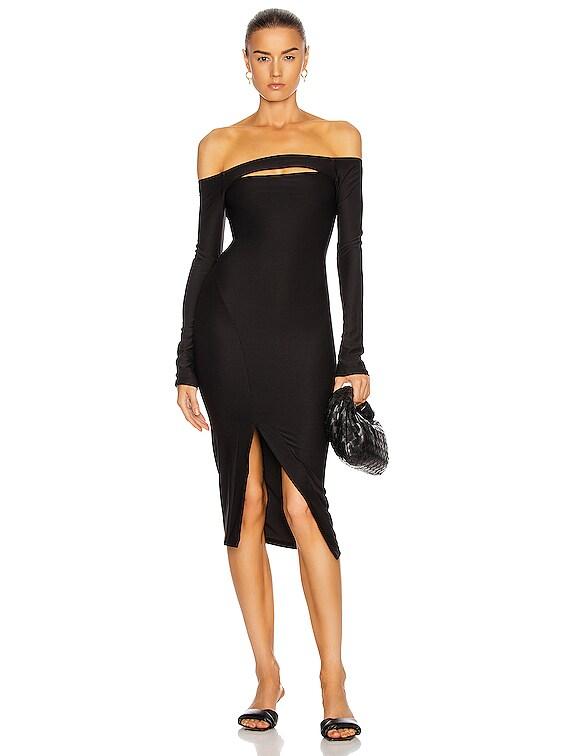 Vanderbilt Dress in Black