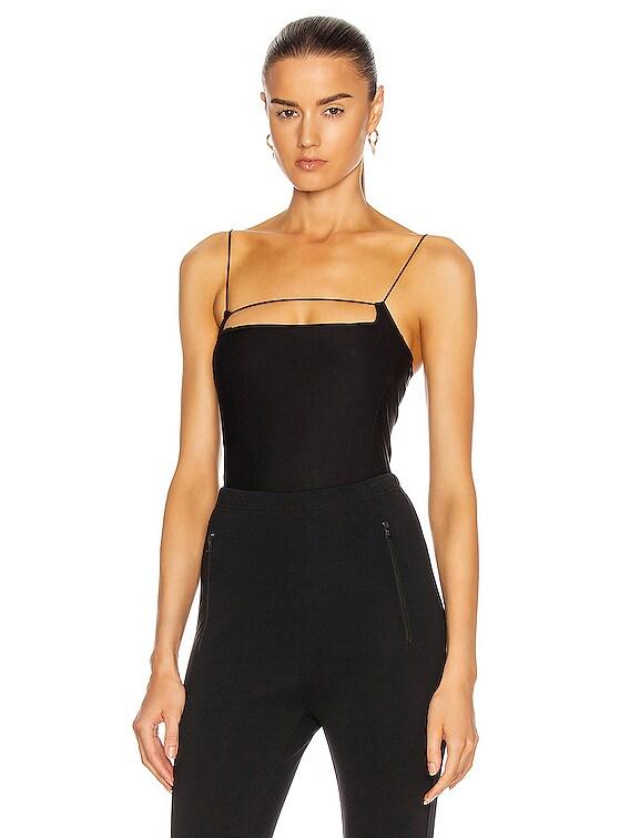 Vernon Bodysuit in Black