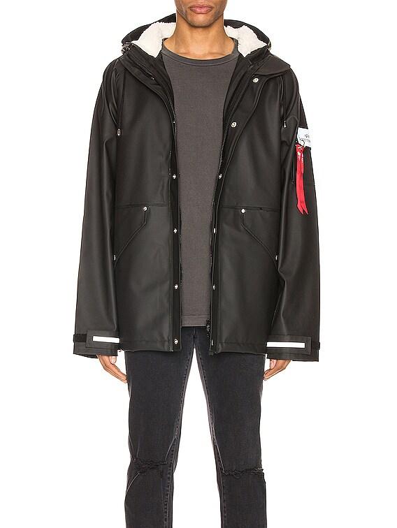 x Stutterheim ECWCS Jacket in Black