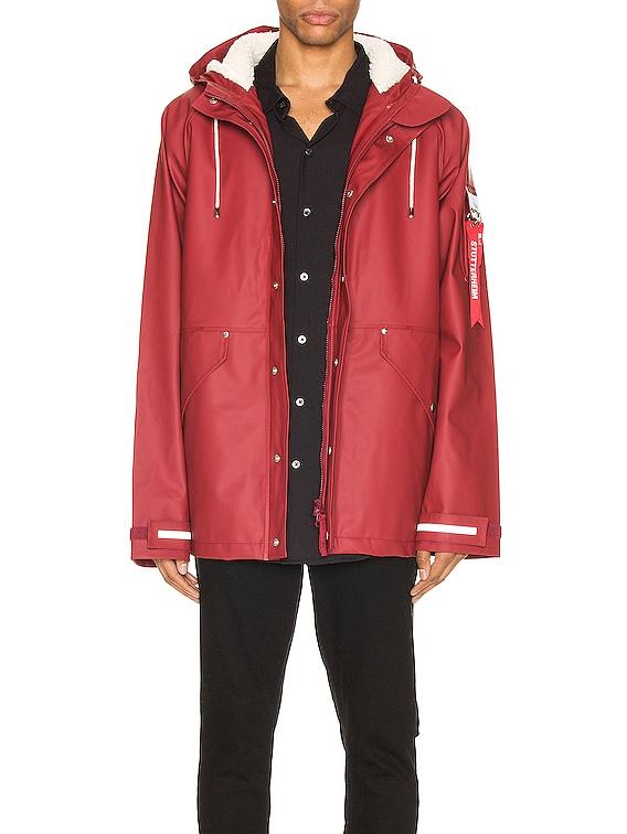 x Stutterheim ECWCS Jacket in Commander Red