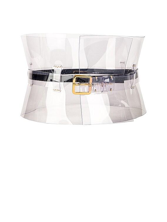Obie Corset Belt in Clear