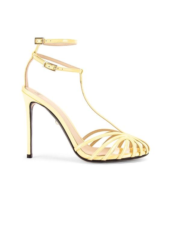 Stella Sandal in Patent Sun
