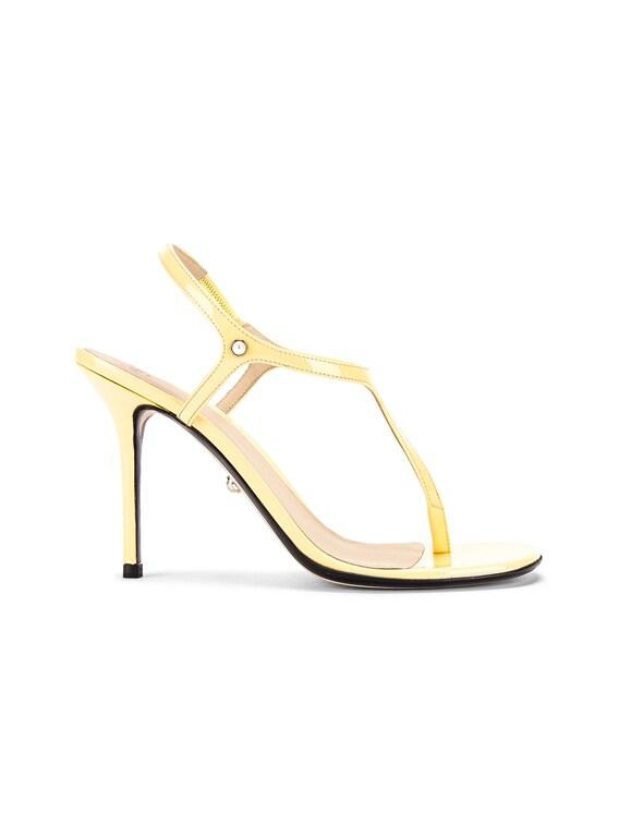 Roxy Sandal in Patent Sun