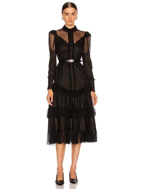 Evarra Dress in Black