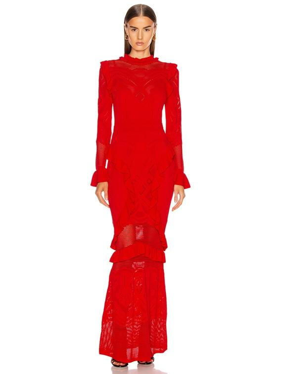 Ceecee Dress in Red
