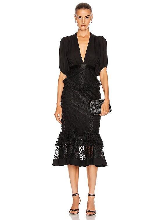 Dilarra Dress in Black