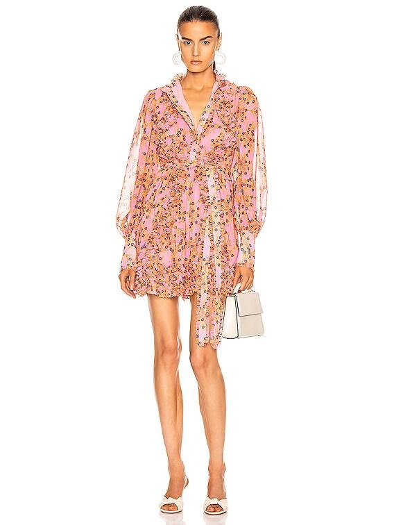 Karina Dress in Rose Floral