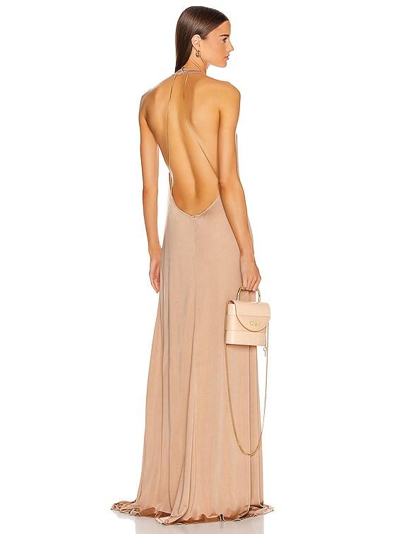 Xaverie Dress in Tan