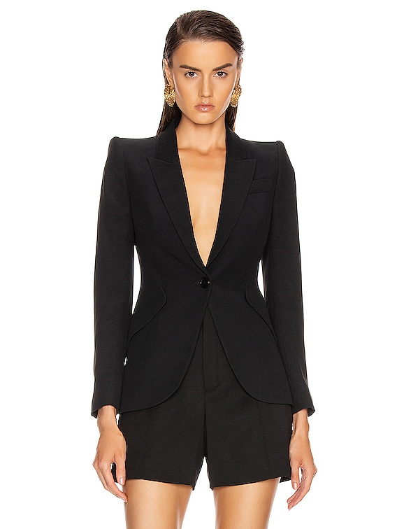 Tailored Jacket in Black
