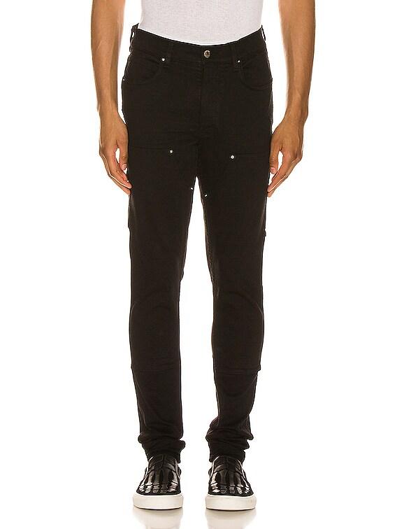 Workman Skinny Pant in Black