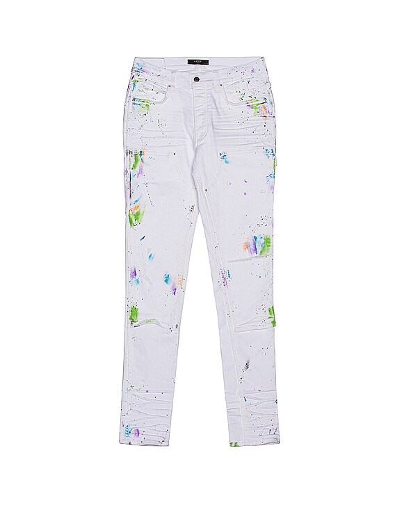 Painter Workman Skinny Pant in White