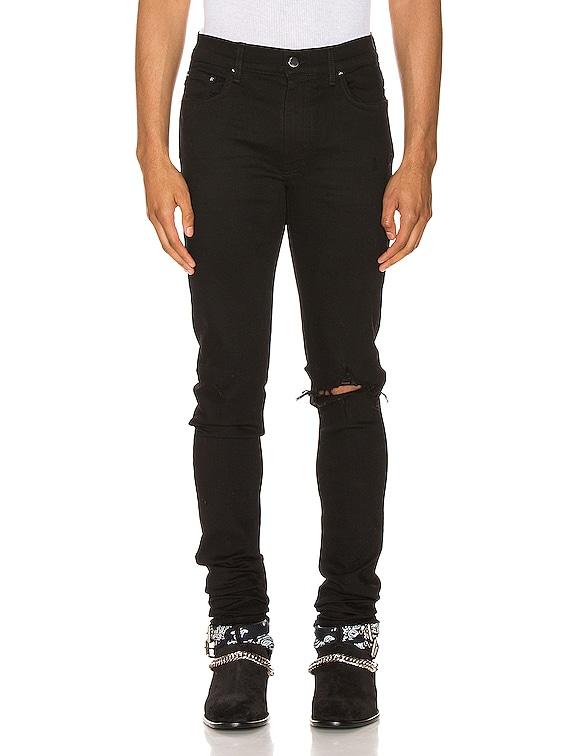 Broken Jean in Black