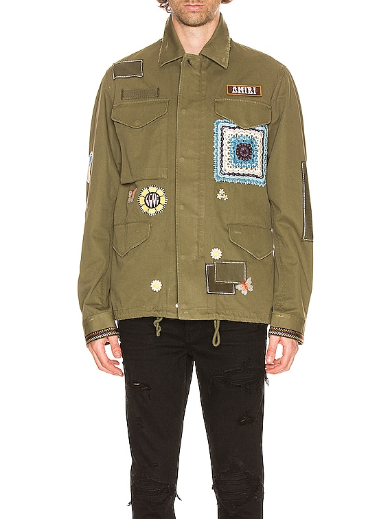 BROTHER Military Short Parka in Military Green