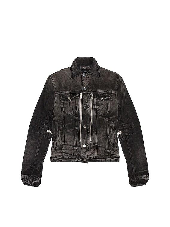 Bandana MX2 Trucker Jacket in Aged Black