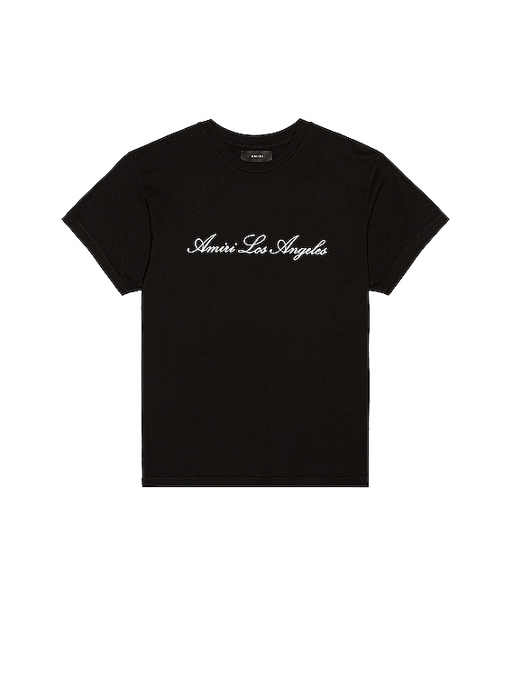 Los Angeles Tee in Black