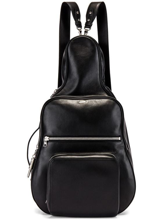 Medium Guitar Bag in Black