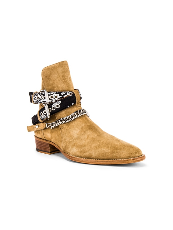 Bandana Buckle Boot in Fango