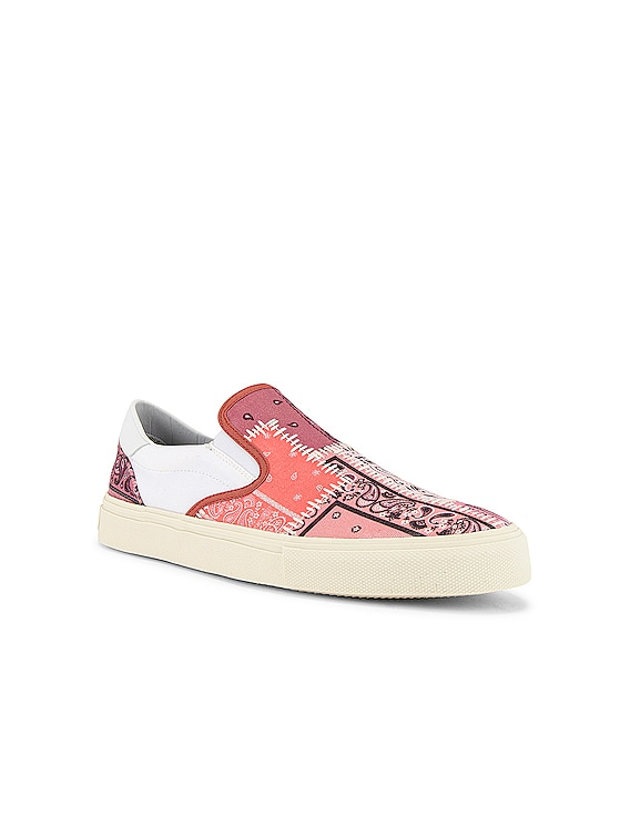 Bandana Reconstructed Slip On in Coral