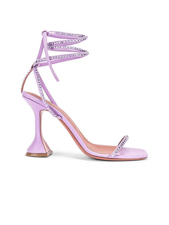 Vita Crystal Sandal in Unicorn