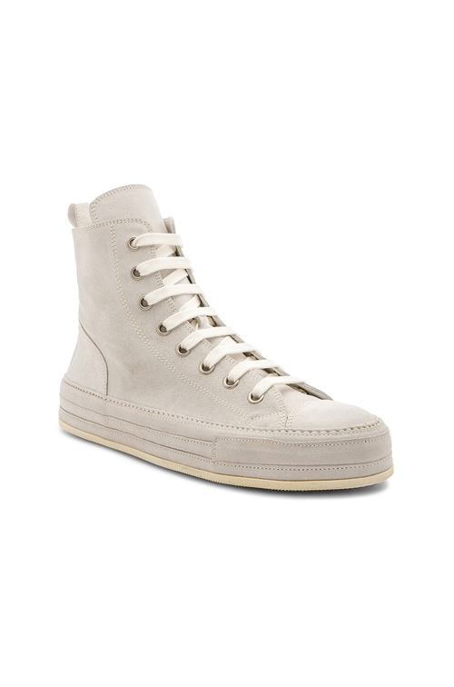 Ann Demeulemeester High Top Sneakers in