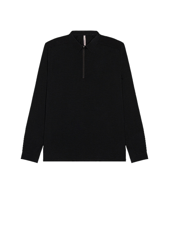 Frame LS Polo in Black