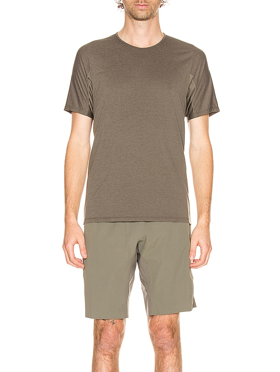 Cevian Comp Short Sleeve Tee in Clay
