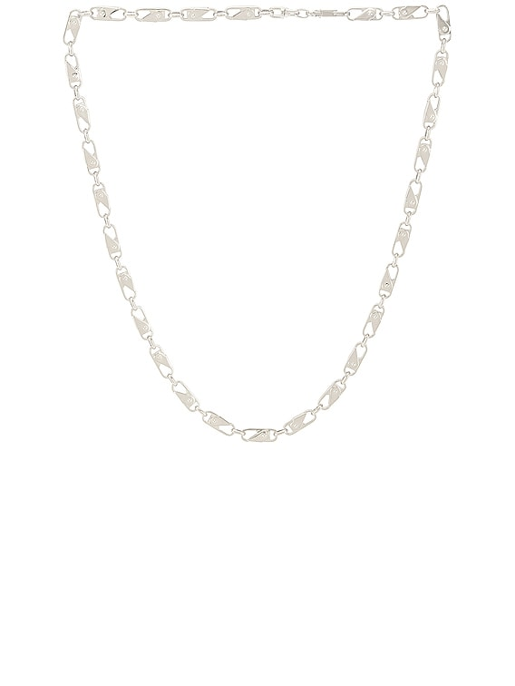 Sling Snap Necklace in Silver