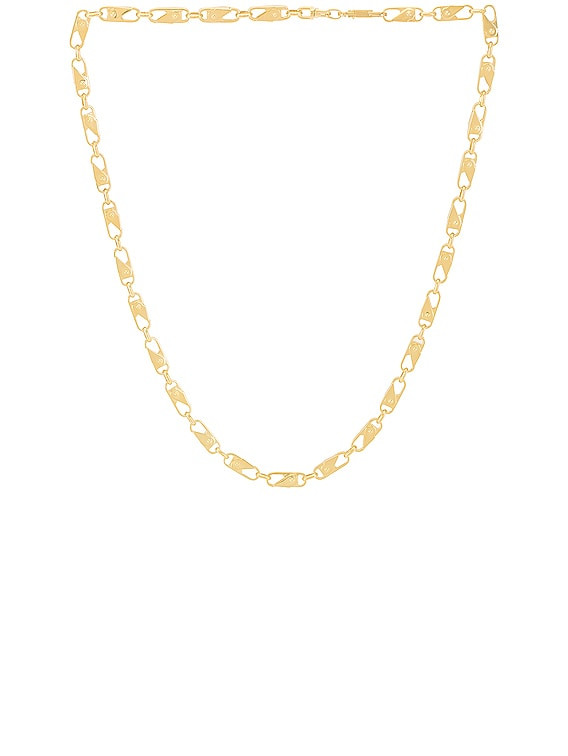 Sling Snap Necklace in Gold