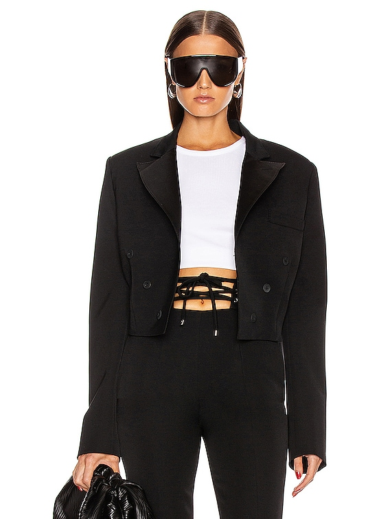 Smocking Jacket in Black