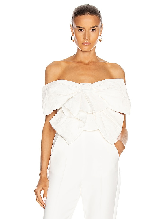 Bow Top in White