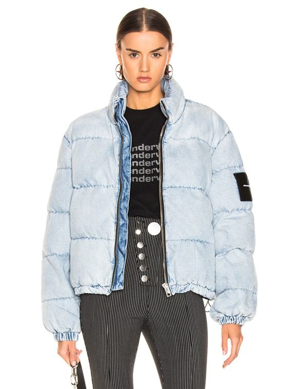 Puffer Jacket in Bleach