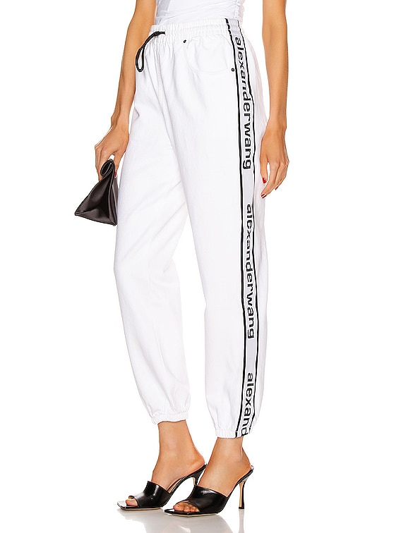 Track Pant in Optic White