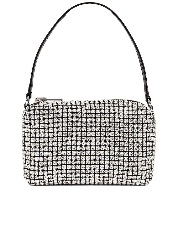 Heiress Medium Pouch in White