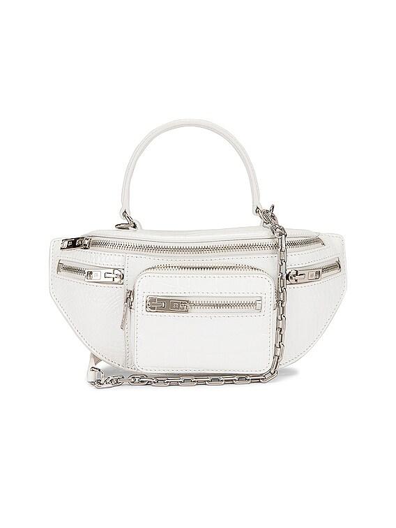 Attica Soft Mini Top Handle Bag in White