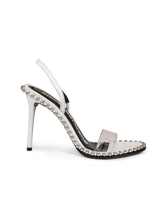 Alexander Wang Nova Heel in White | FWRD