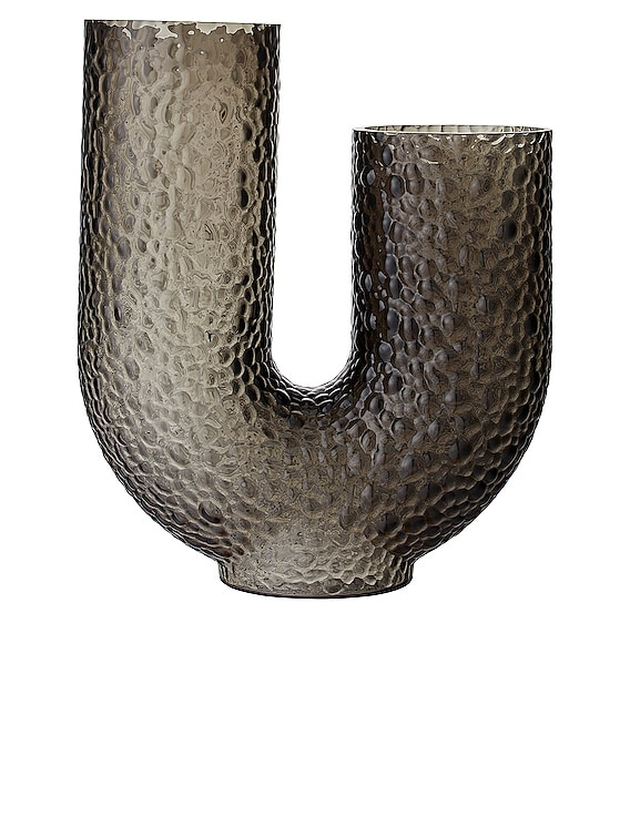 Arura Asymmetric Vase in Black