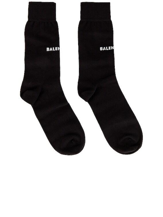 Classic Socks in Black & White