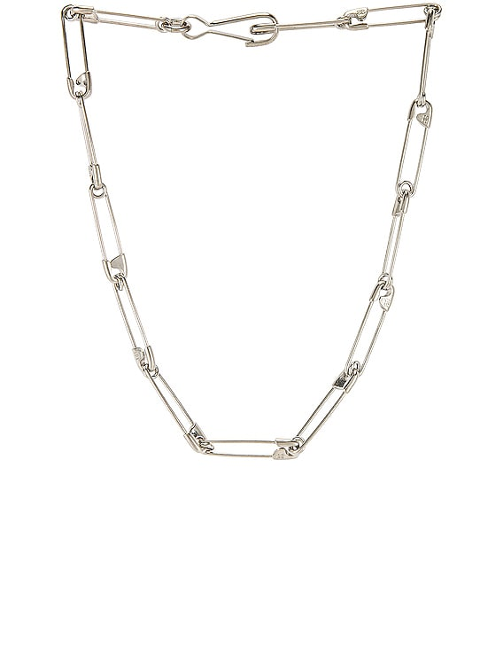 Punk Necklace in Silver