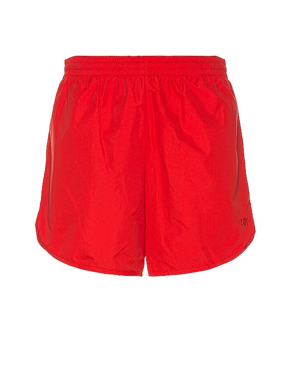 Running Shorts in Masai Red